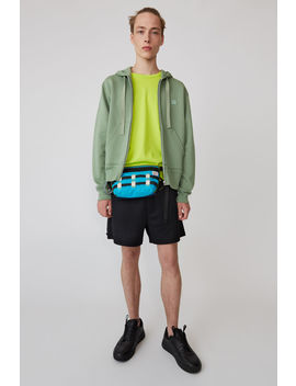 Hooded Sweatshirt Dusty Green by Acne Studios