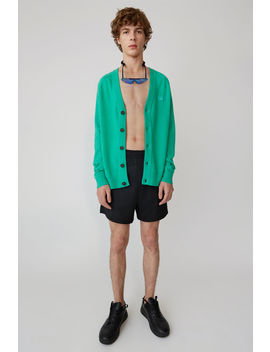 Cardigan Sweater Sharp Green by Acne Studios