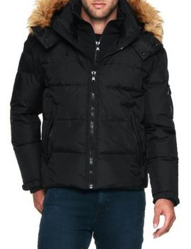 Matte Faux Fur Downhill Jacket by S13