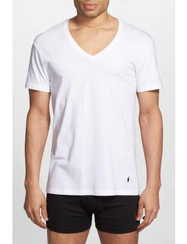 3 Pack V Neck Tees by Polo Ralph Lauren