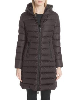 Taleve Hooded Quilted Down Coat by Moncler