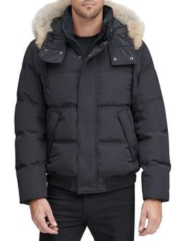 Fordham Faux Fur Trimmed Down Jacket by Marc New York