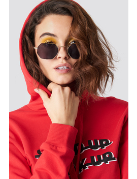 Squared Sunglasses Black by Na Kd