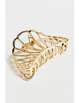 Retro Gold Hair Clip by Urban Outfitters