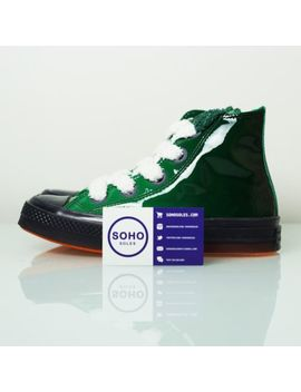 Converse X Jw Anderson Chuck Taylor All Star 70 S Hi Toy Green   Sz 4 7.5 162287 C by Converse