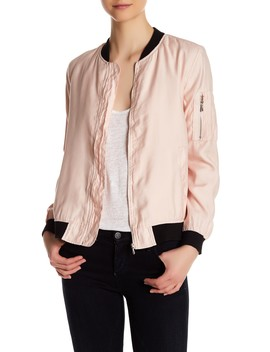 Two Tone Bomber Jacket by Dex