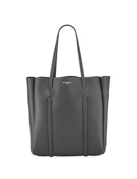 Everyday Small Leather Tote Bag by Balenciaga
