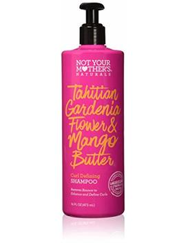 Not Your Mother's Naturals Tahitian Gardenia Flower & Mango Butter Curl Defining Shampoo 16 Fl Oz by Not Your Mother's