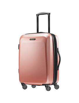 """Moonlight 20"""" Expandable Hardside Carry On Spinner Luggage by American Tourister"""