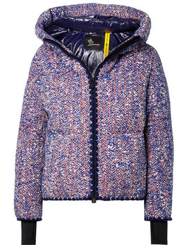 + 3 Grenoble Wool Blend Bouclé Down Jacket by Moncler Genius