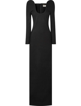 Wool Gown by Saint Laurent