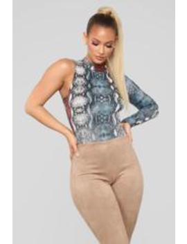 Hiss Wild Thing Bodysuit   Multi by Fashion Nova