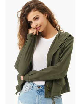 Lightweight Hooded Jacket by Forever 21