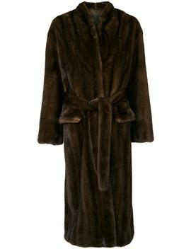 Belted Coat by Liska