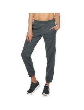 Women's Tek Gear® Ultrasoft Fleece Banded Bottom Mid Rise Sweatpants by Tek Gear