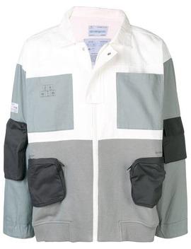 Colour Block Shirt Jacket by C2h4