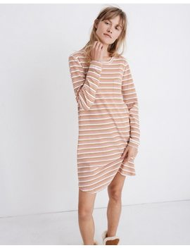 Honeycomb Pajama Dress In Kasson Stripe by Madewell