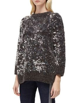Rosemary Sequined Sweater by French Connection