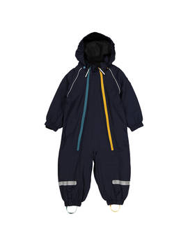 Polarn O. Pyret Baby Fleece Lined Waterproof Overall, Blue by Polarn O. Pyret