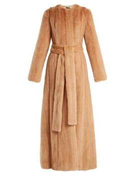 Freda Mink Fur Coat by Brock Collection