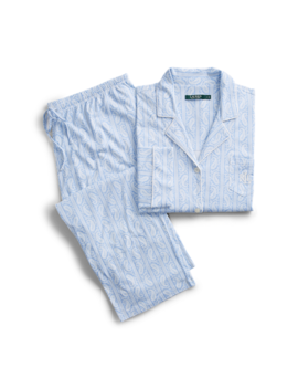 Paisley Cotton Blend Sleep Set by Ralph Lauren