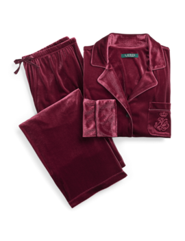 Velvet Sleep Set by Ralph Lauren