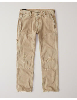 Straight Carpenter Jeans by Abercrombie & Fitch