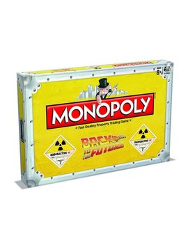 Back To The Future Monopoly Board Game by Winning Moves