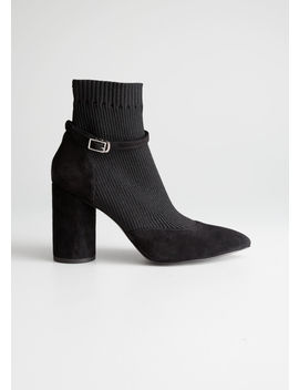 Ankle Strap Sock Boots by & Other Stories