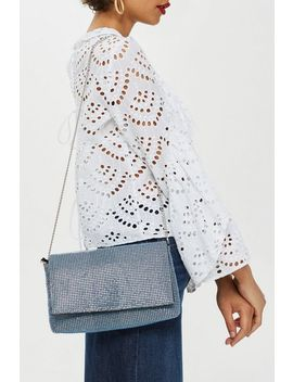 Diamante Clutch Bag by Topshop
