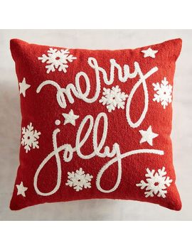 Merry & Jolly Mini Pillow by Pier1 Imports