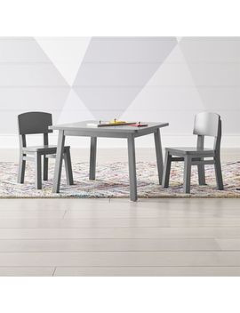 Traditional Toddler Table And Chairs Set by Crate&Barrel