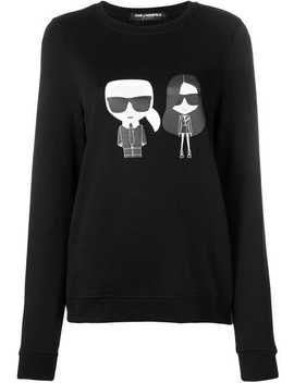Karl X Kaia Ikonik Sweatshirt by Karl Lagerfeld