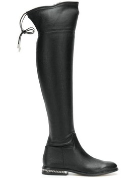 Jamie Stretch Boots by Michael Michael Kors