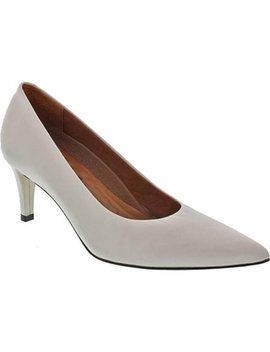 Walking Cradles Women's Sophia Pump White Cashmere Leather by Walking Cradles