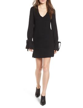 Tie Sleeve Sweater Dress by Cupcakes And Cashmere