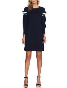 Puffed Sleeve Sweater Dress by Cece