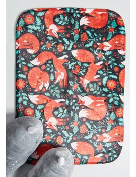 Clever Addition Fox Bath Mat by Modcloth