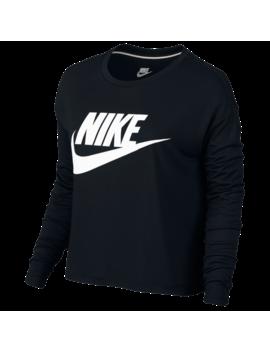 Nike Essential Long Sleeve Crop Top by Foot Locker