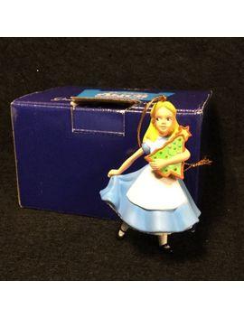 Disney Grolier Alice In Wonderland Christmas Ornament Presidents Edition W Box by Disney