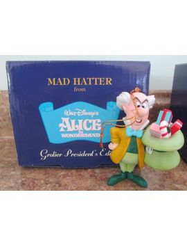 Grolier Presidents Edition Disney Mad Hatter Ornament / Alice In Wonderland by Disney