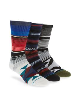 Heritage Assorted 3 Pack Socks by Stance