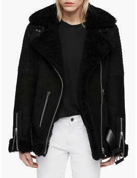 All Saints Garrix Shearling Jacket by All Saints
