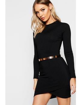 Skinny Metal Waist Belt by Boohoo