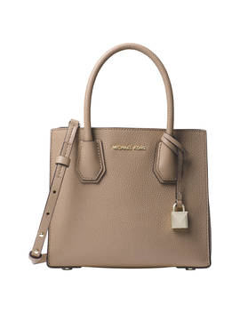 Michael Michael Kors Mercer Leather Messenger Bag, Truffle by Michael Kors