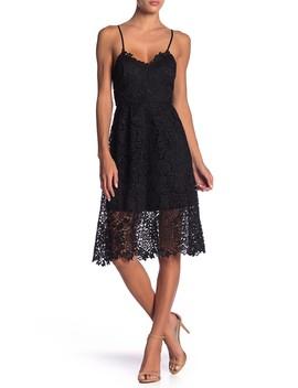 Lace A Line Mini Dress by Astr The Label