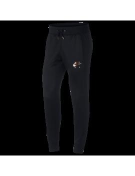 Nike Rose Gold Metallic Air Cuffed Track Pants by Foot Locker