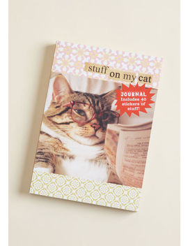 Stuff On My Cat Journal by Chronicle Books