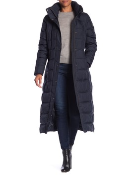 Missy Maxi Hooded Down Jacket by Michael Michael Kors