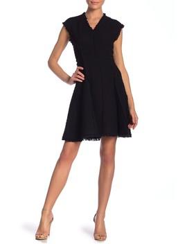 Sleeveless V Neck Dress by Rebecca Taylor